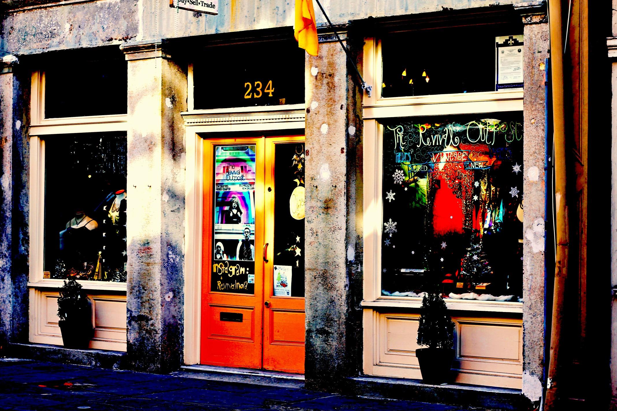 bourbon street store front new orleans stop look shoot. Black Bedroom Furniture Sets. Home Design Ideas