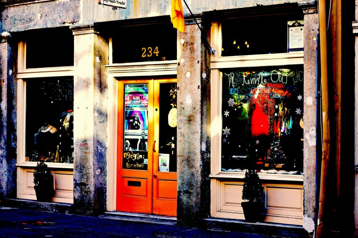 Bourbon Street Store Front, New Orleans