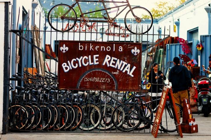 Bikenola Bicycle Rentals, New Orleans