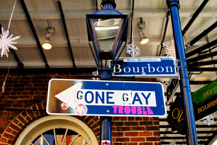 Bourbon Gone Gay, The French Quarter, New Orleans