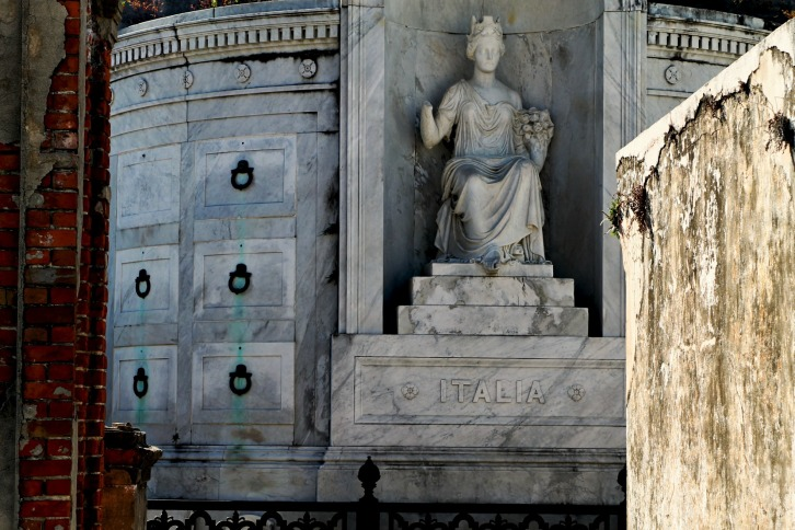 Italia, St. Louis Cemetery No. 1, New Orleans