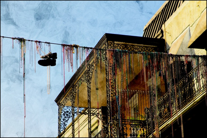 Mardi Gras Hangover, Bourbon Street, New Orleans
