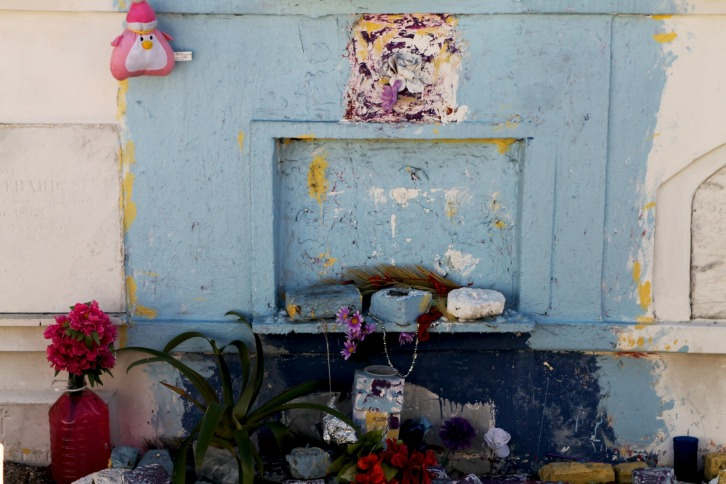 Offerings 4, St. Louis Cemetery No. 1, New Orleans