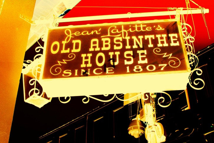 Old Absinthe House Sign, New Orleans