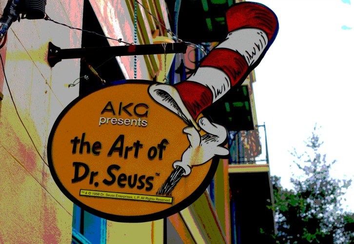 The Art of Dr. Seuss Sign, New Orleans