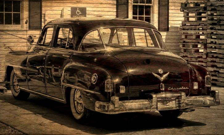 The Antique Chrysler, Truro, Massachusetts