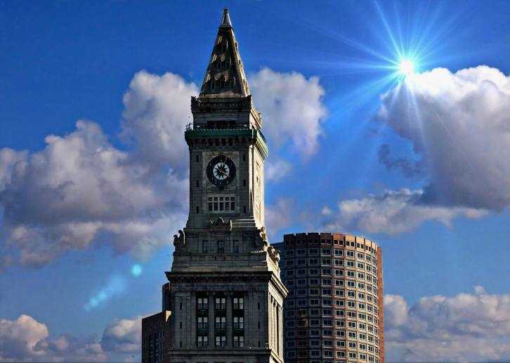 The Custom's House Tower, Boston, Massachusetts