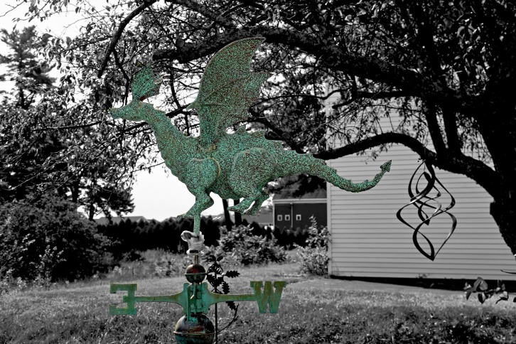 The Dragon Weathervane