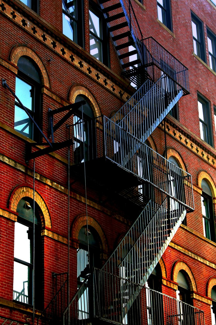 The Fire Escape, Portland, Maine