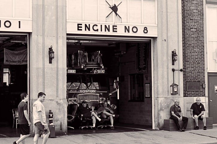 Engine No. 8, The North End of Boston