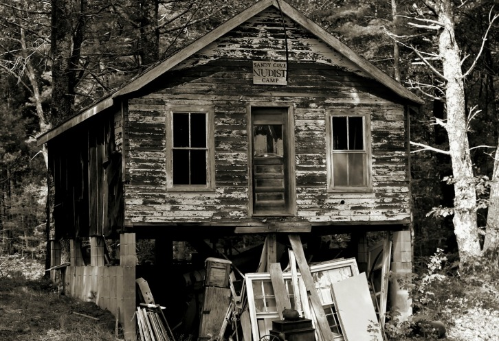 Sandy Cove Nudist Camp, Maine