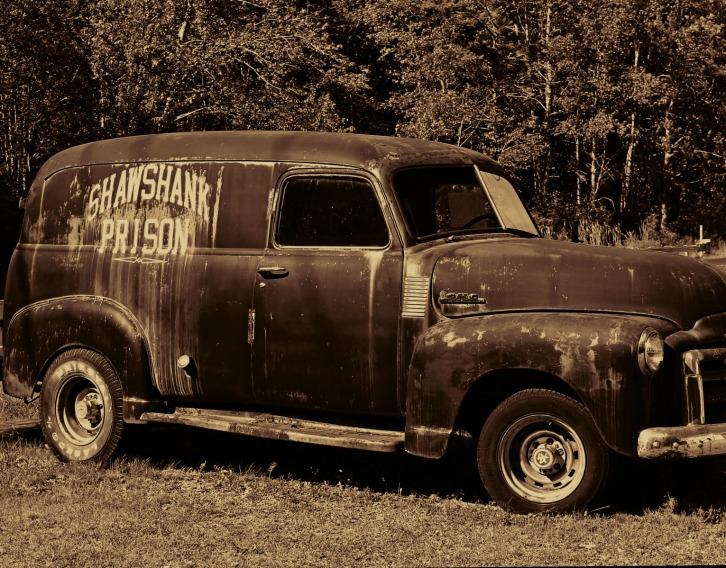 Shawshank Prison Truck, Maine