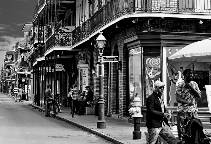 On the Streets of New Orleans