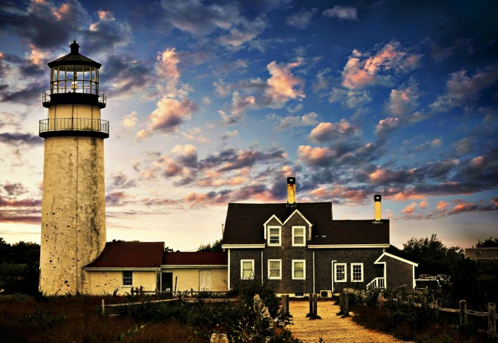 Early Evening, Cape Cod Highland Light