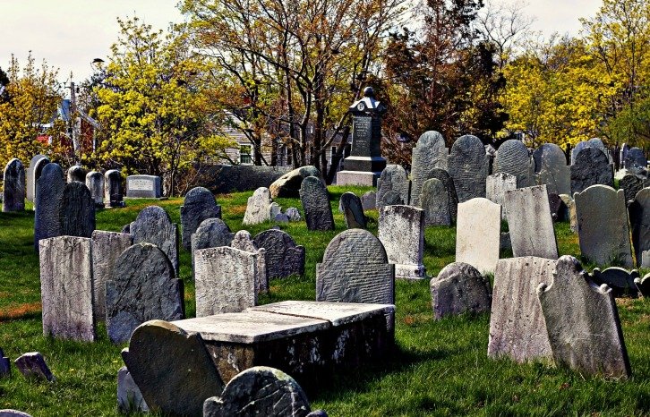 Old Burial Hill, Marblehead, Massachusetts
