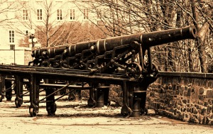 The Canons of Montmorency Park, Quebec