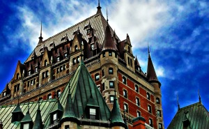 View of the Chateau Frontenac, Quebec