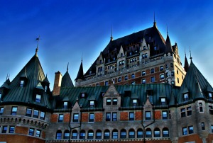 The Chateau Frontenac, Quebec City