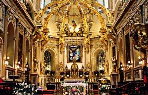 Inside Notre Dame Cathedral, Quebec