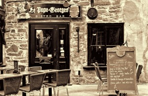 Le Pape Georges Bistro and Bar, Quebec City