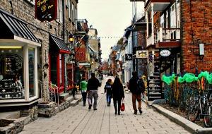 Le Petit Champlain Street