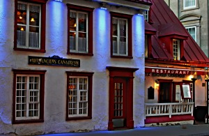 The Oldest Restaurant in Quebec