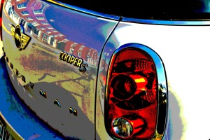 Mini-Cooper Reflections, Criminal Posterization