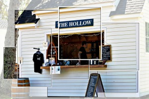 The Hollow at Truro Vineyards & Winery, Montage