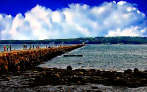 The Long Walk to Rockland Breakwater Light
