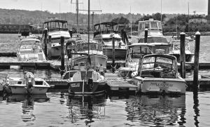 Boats, Lincolnville Harbor, Maine