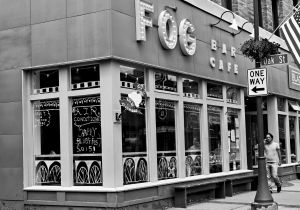 Outside the Fog Bar & Cafe