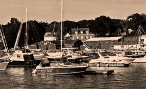 The Red Boat, Camden Harbor