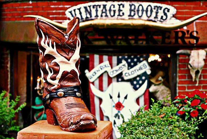 Vintage Boots, Newbury Street