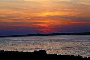 Just Before Sunrise, Lincolnville, Maine