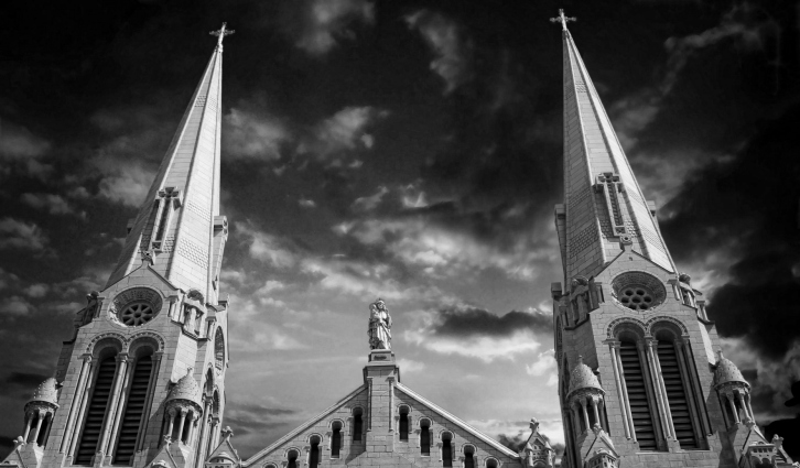 Steeples-St Anne-Infrared II